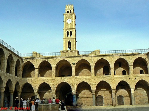 Akka - the caravanserai Khan Al-Umdan