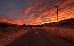 Summer Sunset (Raikyn) Tags: sunset hawkesbay hdr newzealand nz landscape