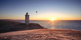 Lighthouse in the sunset...
