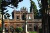 Real Alcazar (hans pohl) Tags: espagne andalousie séville alcazar bâtiments buildings maisons houses arches architecture trees arbres colonnes