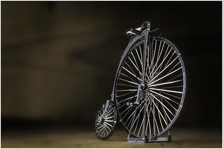 Macro Mondays - Made of Metal (Option) - Penny Farthing Model