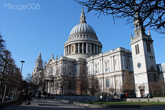 St Paul's Cathedral (Mirage008) Tags: mirage008 mirage008photography canon canoneos1100d stpaulscathedral st pauls cathedral photo walk winter cold outside church beauty architecture london