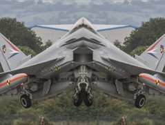 Stealth Eurofighter Typhoon P2E (Columbiantony Photography) Tags: airplane effects mirror nokia experimental fighter outdoor aircraft special mockup prototype eurofighter vehicle stealth effect app typhoon prototypes specialeffects eap eurofightertyphoon p2e typhooneurofighter stealthfghter eurofighterp2e