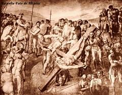 1545 ca Michelangelo La Crocifissione di S. Pietro nella Cappella Paolina (Roma ieri, Roma oggi di Alvaro de Alvariis) Tags: italy rome roma del cardinal michelangelo sanpietro raffaello 1550 raffaele 1508 1510 personaggi forse 1536 1540 giudiziouniversale riario 1512 1545 1570 1538 1558 1565 romascomparsa attribuita messadibolsena raccoltafotodealvariis vedutadelrioneborgodoveralostudiodimichelangelo statuadisgiovanninoattribuitaamichelangelopressosgiovannidefiorentini fotoalinarianni60 michelangelolacrocifissionedispietronellacappellapaolina benvenutocelliniritrattodalvasari personaggimichelangeloinunaminiaturadelcodiceescurialense difdehollandia scaterinadellecavallette piazzaspietroborgonuovo digadosio ludovicoariostoritrattodaltiziano cappellasistinaparticolaredellasibillacumana villadellafarnesinasaladellagalateatesta peruzzi1512il michelangelomodelloinlegnodellacupoladisanpietro fotodanonimoani60 michelangelodisegnoperunacrocifissione michelangelocartonepreparatorio michelangeloparticolaredisantiesantedelgiudiziouniversale michelangeloparticolaredelgiudiziouniversalenellacappellasistina bustodimichelangelocopiadadanieledavolterranelpalazzodeiconservatori