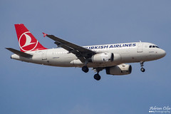 Turkish Airlines --- Airbus A319 --- TC-JLR (Drinu C) Tags: plane aircraft aviation sony airbus dsc turkish mla a319 turkishairlines lmml tcjlr hx100v adrianciliaphotography
