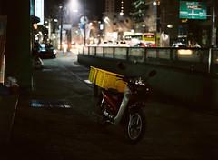 z (june1777) Tags: snap street seoul angukdong night light bokeh mamiya 645 mamiya645 sekor c 80mm f19 fuji pro 400 h 400h pro400h tl