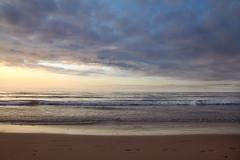 tierra, mar y aire. San vicente de la Barquera (antonio f. martinez) Tags: sunset espaa color beach clouds landscape spain tranquility playa nubes calma cantabria anochecer tranquilidad cantabrico sanvicentedelabarquera