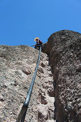 Almost at the top (rozoneill) Tags: california park hiking salinas national valley soledad pinnacles hollister wsweekly150