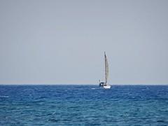 Freedom. (Ia Löfquist) Tags: sea sky freedom boat sailing kreta himmel crete hav segelbåt ierapetra frihet