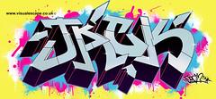 Jack   Custom Graffiti Illustration (www.visualescape.co.uk) Tags: jack graffiti custom digitalgraffiti personalisedart