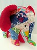 "Charlie the (new) Patchwork Elephant • <a style=""font-size:0.8em;"" href=""http://www.flickr.com/photos/29905958@N04/21354609366/"" target=""_blank"">View on Flickr</a>"