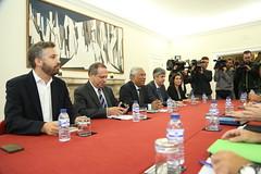 Reunião entre PSD, CDS-PP e PS
