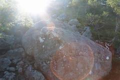 flooded valley (dorthrithil) Tags: light sun nature norway rock canon lens landscape eos boulder lensflare flare ef 6d 24105