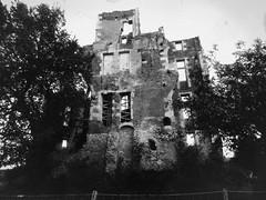 Vestiges (asmoth360) Tags: old bw gris noiretblanc gimp nb ancien ruines retouche pass vestiges loiret saintdenisenval chteaudelisle