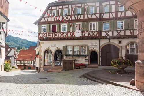 Place de la Mairie à Gernsbach