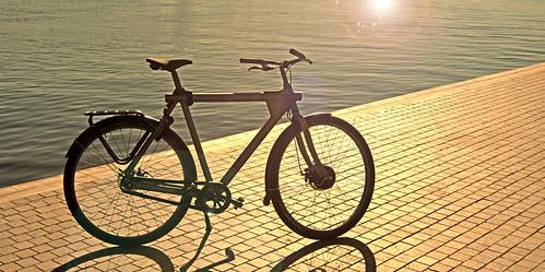bike bicycle electric ebike vanmoof