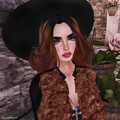 Miss Vero Modero 2016 - Casual Chic Vogue Challenge (Headshot) (Hanna Luna Naimarc: MVD 2016 & MVW Chile 20) Tags: hat fashion blog style competition blogger lips clothes casual chic challenge styling septum veromodero missveromodero