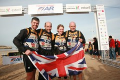 2009 world champs - team of 4 at finish