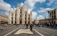 Milano (02) - Duomo (Vlado Ferenčić) Tags: italy architecture milano duomo lombardia duomodimilano lombardy nikkor173528 nikond600 citiestowns castleschurches