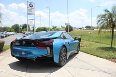 IMG_3782 (Haifax.Car.Spotter) Tags: cars car sport race racecar florida miami bmw fl supercar sportscar i8 superscars bmwi8