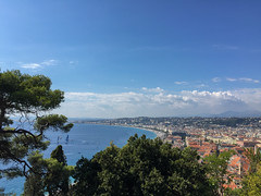 Blick über Nizza