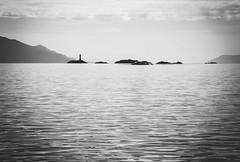 les eclaireurs (Lucrecia Carosi) Tags: bw byn landscape faro tierradelfuego ushuaia canaldebeagle island mar rocas leseclaireurs ushuaiaenero2015