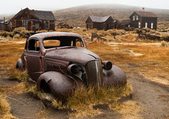 '37 Chevy (jpaulus) Tags: abandoned gold ghost chevy rush ghosttown bodie