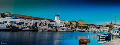 Puerto pesquero (re-edicin color) (juancarts) Tags: longexposure blue sea espaa azul boats puerto muelle mar spain nikon barcos harbour ships murcia pan nikkor cartagena panormica largaexposicin nikond5100