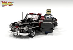 1946 Ford Super Deluxe Convertible (Back to the Future I & II) (lego911) Tags: auto birthday usa classic ford film car america movie back model october lego deluxe render bttf 21st convertible super 1940s future biff scifi challenge v8 8th 6th backtothefuture cad lugnuts 1946 96 povray tannen moc ldd 2015 miniland foitsop yourclaimtofame lego911 happycrazyeighthbirthdaylugnuts