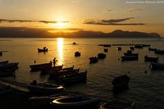Pescatori al tramonto (Abdujaparov) Tags: sunset sea summer italy sun boat mediterraneo barca italia tramonto mare ship estate sicily sole palermo sicilia bagheria panza montepellegrino pancia aspra martirreno golfodipalermo