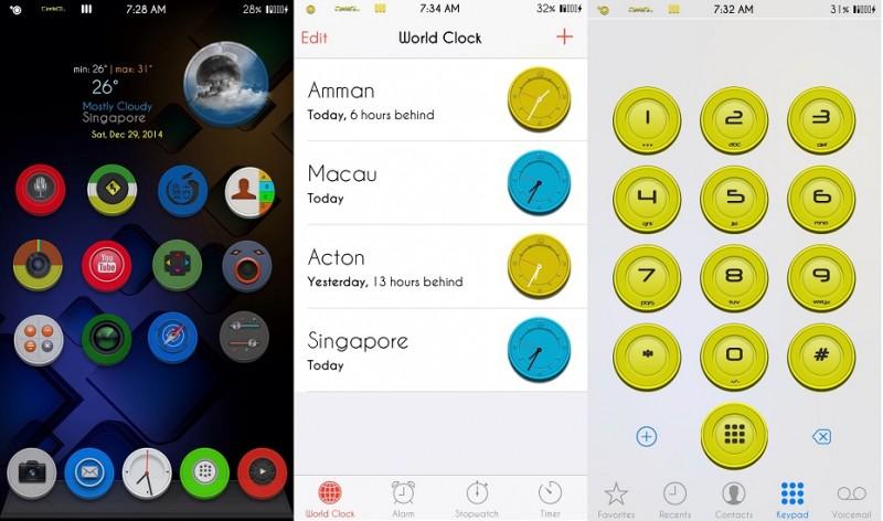 ប្លែកខ្លាំងមែនទែន ជាមួយនឹង Theme ទើបនឹងចេញថ្មីសម្រាប់ iOS 9!! តោះតម្លើងទាំងអស់គ្នា