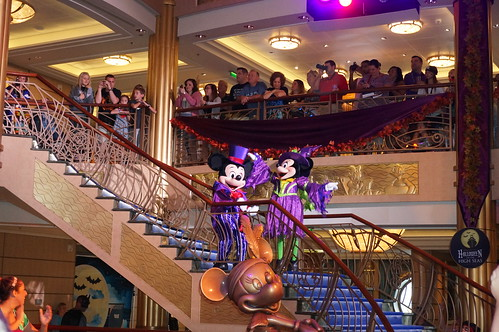 """Mickey and Minnie Mouse at Mickey's Mouse-querade Party • <a style=""""font-size:0.8em;"""" href=""""http://www.flickr.com/photos/28558260@N04/22666607639/"""" target=""""_blank"""">View on Flickr</a>"""