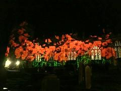 Bradfield Church South Yorkshire (Whamehtie) Tags: sheffield poppies remembranceday bradfield armistice 111111 southyorkshire projections bradfieldchurch