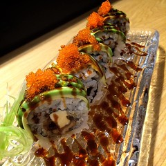 Dragon Roll โรลอร่อยสุดล้ำที่ต้องลอง ร้านวาซะซูชิ สุขุมวิท33