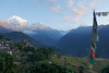 Sunrise in Ghandrung 1940m (Poxxel) Tags: nepal sunrise sonnenaufgang annapurnasouth hiunchuli ghandrung machapuchare