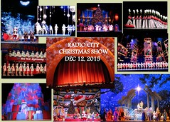 2015-12-12 Radio City collage (petespix75) Tags: newyorkcity manhattan radiocity rockettes christmasshow