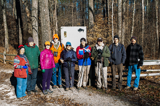 Hoosier National Forest - Buffalo Trace Hike - December 19, 2015