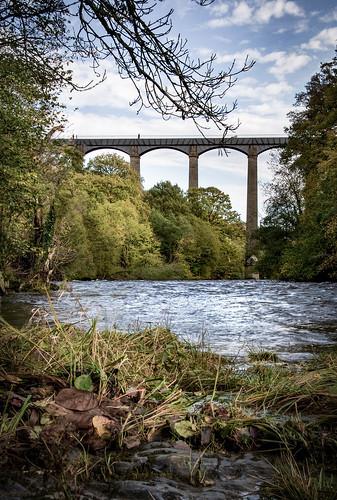 Pontcysyllte Aqueduct, River Dee, near Llangollen