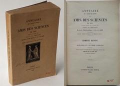 Annuaire de la Société de secours des amis des sciences, L.-J. Thénard, 1934 (Kean105) Tags: livresanciens vieuxlivres antiquebooks annuaire whoiswho sciences répertoire