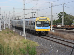 336M-437M-401M-402M-City loop Service (damoN475photos) Tags: comeng 336m 437m 401m 402m cityloop service approaching westfootscray 2017 metro suburban