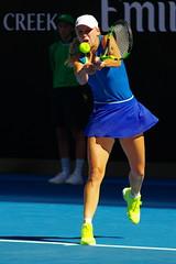 Wozniacki vs Rodionova (Derek _Kan) Tags: wozniacki rodionova australian open 2017 ricoh pentax k3