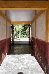 5D8_7403 (bandashing) Tags: frame pillars village house bangla red yellow white historic trees lush green sylhet manchester england bangladesh bandashing socialdocumentary aoa akhtarowaisahmed