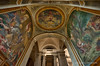 Delacroix's Holy Angels (Marc Haegeman Photography) Tags: painting paris frenchart frenchpainting saintsulpice churches parischurches eugènedelacroix bible angel frescoes nikond800 marchaegemanphotography france religiousart interior ceiling 19thcentury