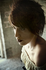 The Cellar 9 (Mark_Dangerous) Tags: woman model vintage poisonapple cellar dark fairytale magical medieval corset dress evil photoseries colorgrading photostory spell femmefatale portrait