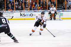 "Missouri Mavericks vs. Utah Grizzlies, December 28, 2016, Silverstein Eye Centers Arena, Independence, Missouri.  Photo: John Howe / Howe Creative Photography • <a style=""font-size:0.8em;"" href=""http://www.flickr.com/photos/134016632@N02/31813515672/"" target=""_blank"">View on Flickr</a>"