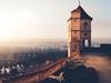Castle Trausnitz - View over Landshut, Germany (Sebastian Bayer) Tags: olympus aussicht schloss winter burg sonnenuntergang germany micro43 124028 gemäuer panorama ausblick sonnenschein sonnenstrahlen abendstimmung nebel warm gemütlich abend omdem5ii historisch schlosstrausnitz trausnitz landshut mft deutschland liege omd bayern de