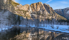 Some Mornings are Better than Others (Don's Photostream) Tags: yosemite river snow waterfall trees
