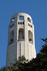 Coit Tower, San Francisco, California (Joseph Hollick) Tags: sanfrancisco california usa tower coittower