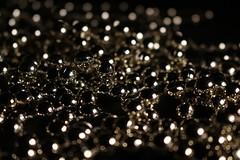 Chain (Klaudia D. P.) Tags: pearls chain pearl sparkle bokeh dof macro closeup indoor studio background black shine shiny light contrast composition reflection