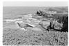 At the cliff edge (davidgarciadorado) Tags: 135film 35mm zuikoom olumpusom kodaktmax blackandwhite bw galicia spain cantabric clift sea blackwhite
